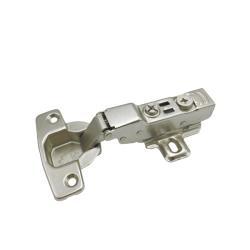 Петля MF Prima, Clip-on полунакладная с доводчиком, мягкий ход Схема установки