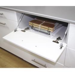Выдвижная гладильная доска ALBA HZ040 300х(480 - 1260)х140 В мебели
