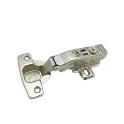 Петля MF Prima, Clip-on накладная с доводчиком, мягкий ход Схема установки