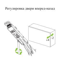 Подъемный механизм FGV AEROBUS  D20 (1-2,5 кг) Схема установки