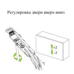 Подъемный механизм FGV AEROBUS  D40 (2,4-5,5 кг) Схема установки