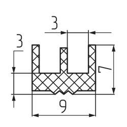 Уплотнитель 03 (ук-20) Чертеж