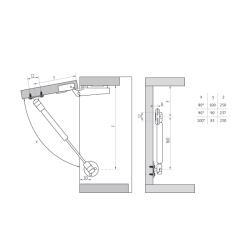 Газлифт на 12кг Схема установки