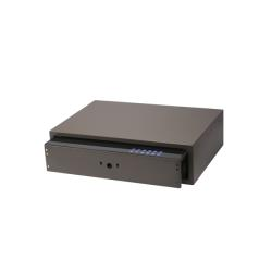 Выдвижной сейф с тачскрином 564*400*150мм, Unihopper, в базу 600мм, Moka Общий вид