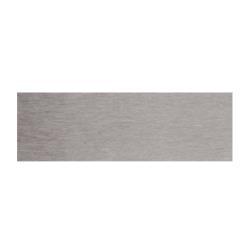 Закругление цоколя (универсальное) 100мм,  пластик, алюминий шлифованный Цвет