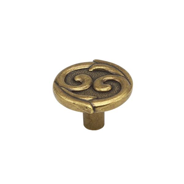 Ручка-кнопка H61 античная бронза