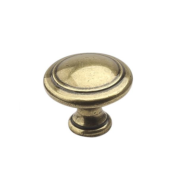 Ручка-кнопка H27 античная бронза