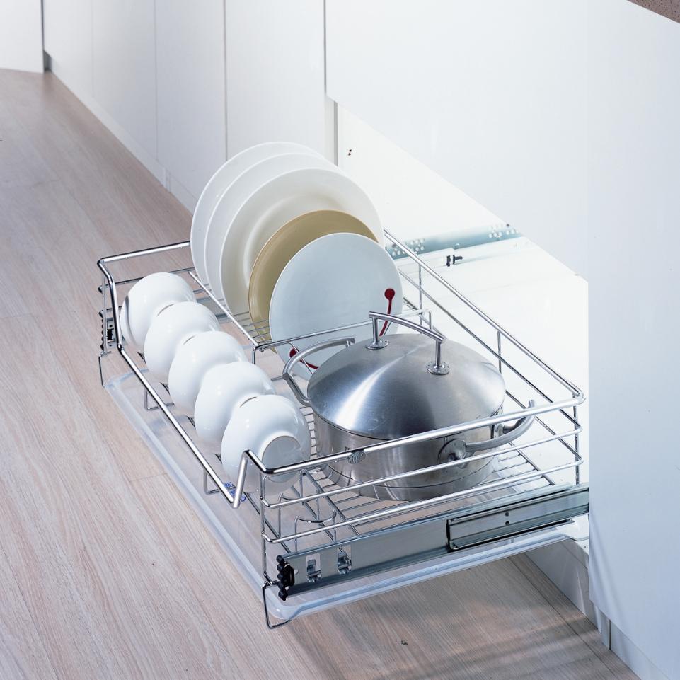 Выдвижной посудосушитель (сушилка) для кухни