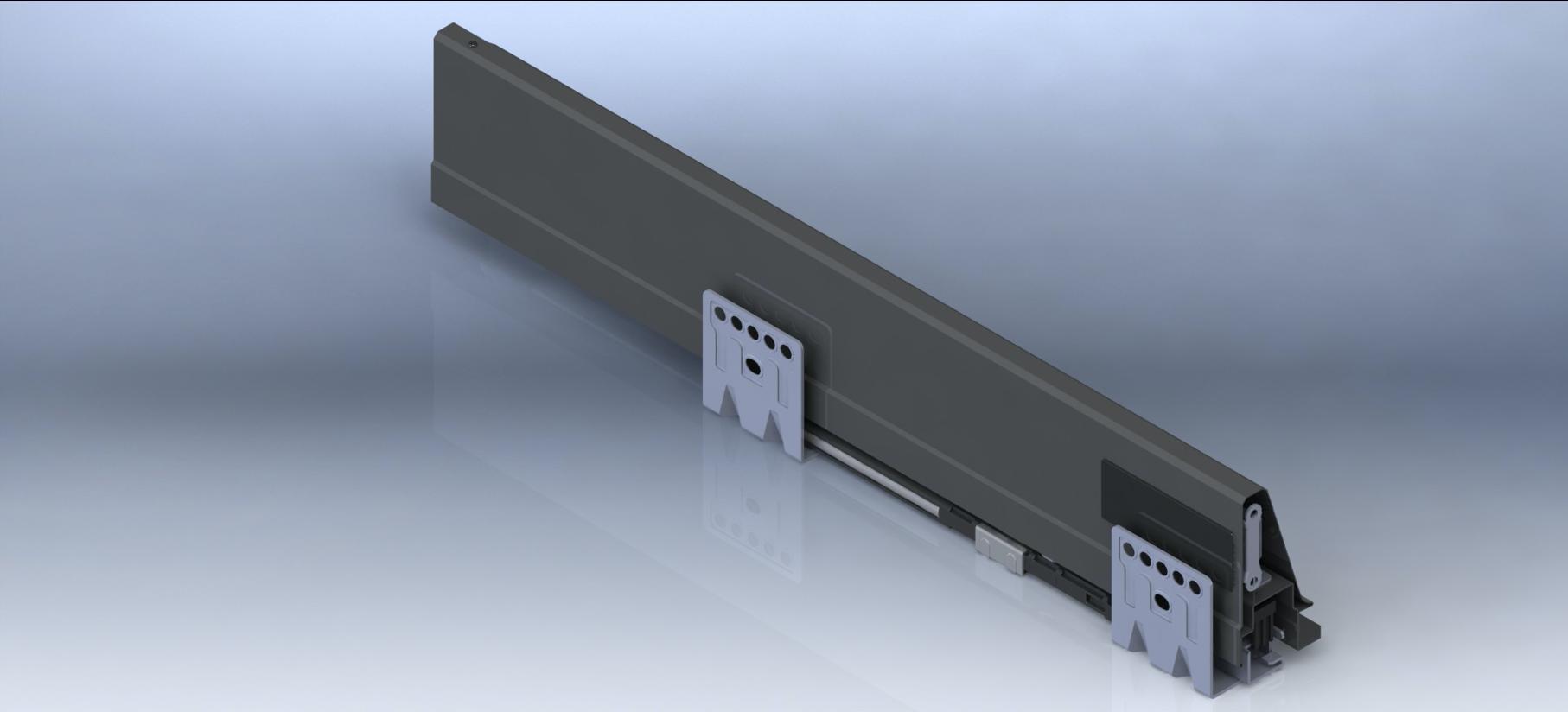 Система выдвижных ящиков UNIHOPPER MENTAL BOX общий вид